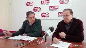 Tomas Martin y Bernabe Martin ccoo pensionistas