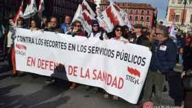 manifestacion defensa sanidad publica plataformas valladolid 44