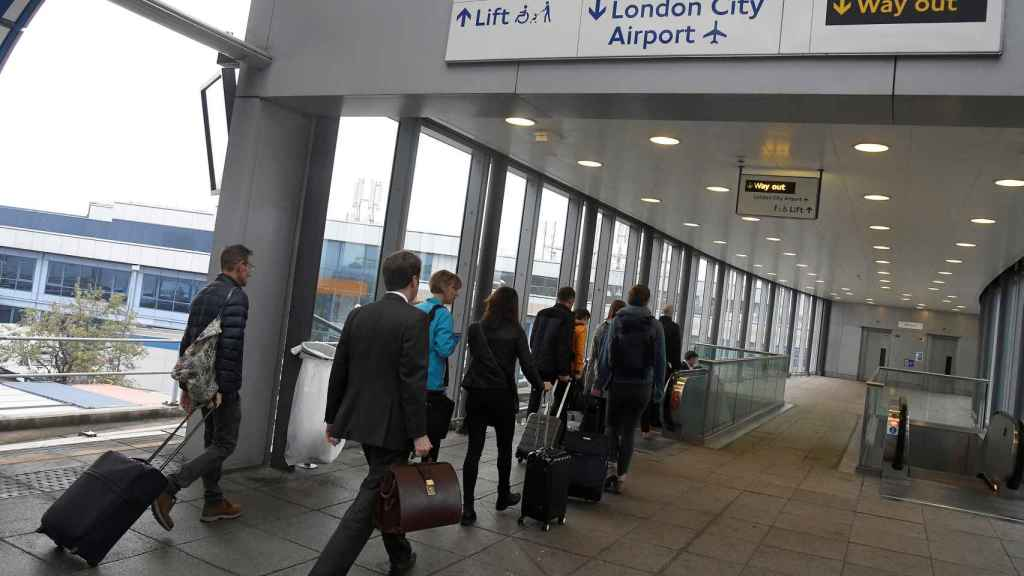 Imagen del London City aeropuerto.