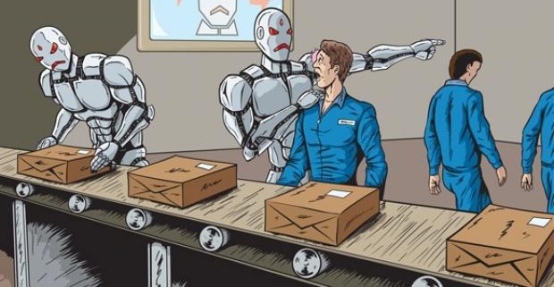 fabricas robots personas humanas