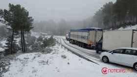 Nieve provincia de Burgos