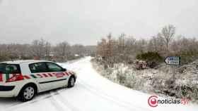 Zamora diputacion carretera nieve 2