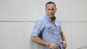 Carlos Lozano en una sesión de fotos.