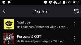 Cómo crear una lista de Spotify con tus vídeos favoritos de Youtube