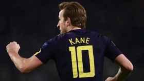 Kane celebra su gol a la Juventus. Foto: Twitter (@championsleague).