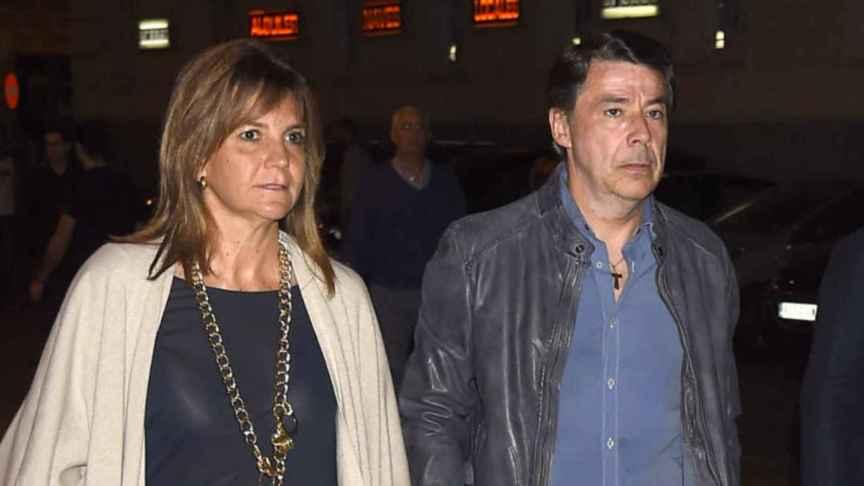 Lourdes Cavero e Ignacio González en Madrid.