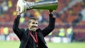 Simeone, con la Europa League.