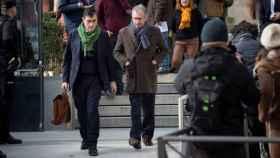 Francisco Granados a la salida de su declaración en la Audiencia Nacional.