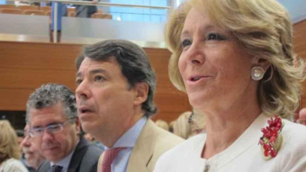 Aguirre, González y Granados, cuando compartían tareas de gobierno./