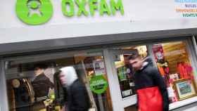 Una tienda de Oxfam en Reino Unido.