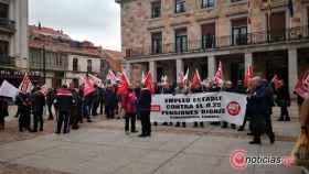 zamora ccoo pensiones manifestacion