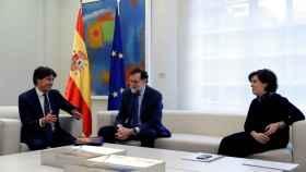 Mariano Rajoy, recibe al presidente de Societat Civil Catalana, José Rosiñol