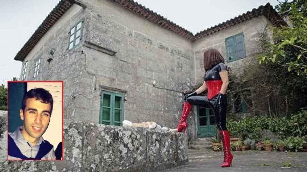 Imagen con la que Ama Lara promocionaba el burdel.