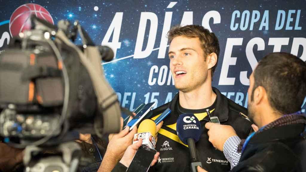 Abromaitis fue fundamental en la victoria del Tenerife en cuartos.