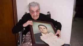 Petra Diánez, de 96 años, ha esperado siete décadas para poder enterrar en su pueblo los restos de su novio, que murió en 1946 en Córdoba.