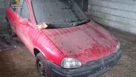coche robado leon
