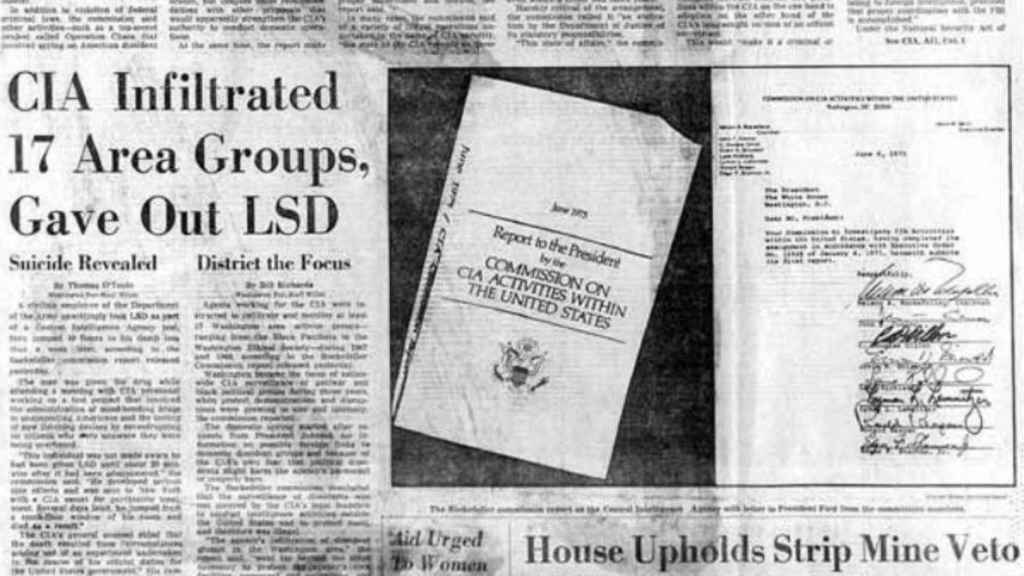 El Washington Post reveló en su portada los experimentos MKUltra