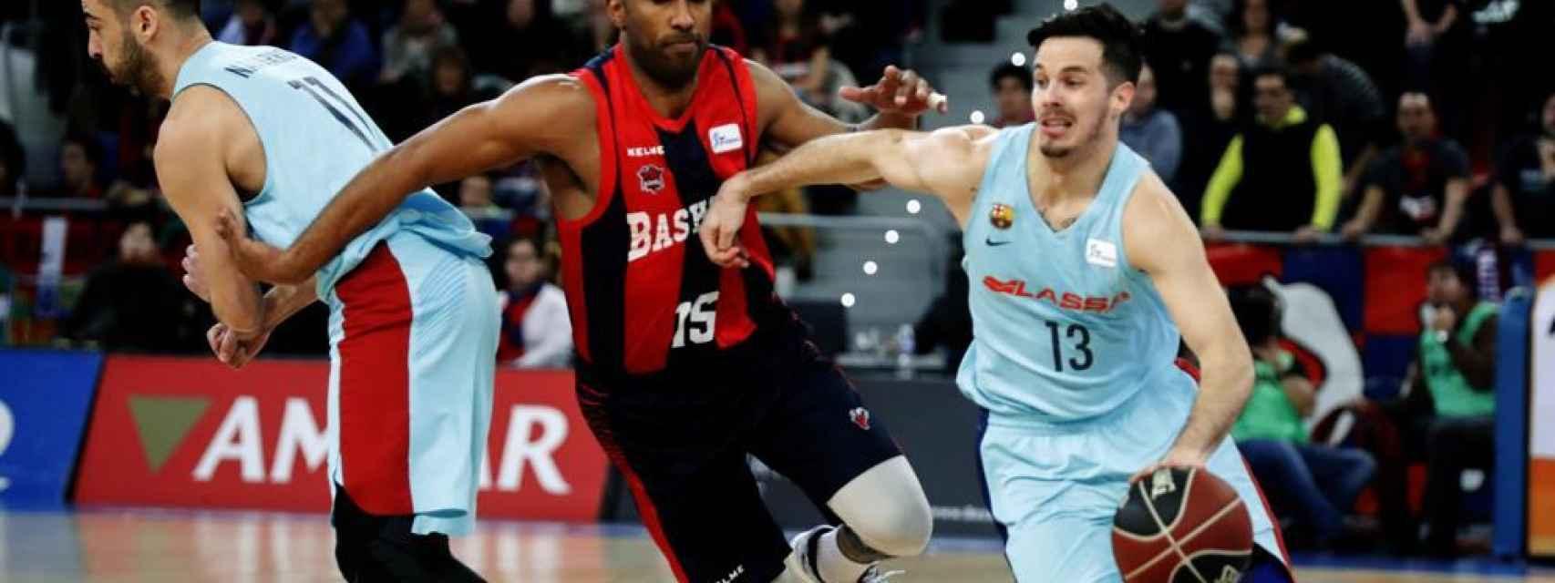 Imagen del Baskonia - Barcelona de Liga ACB.