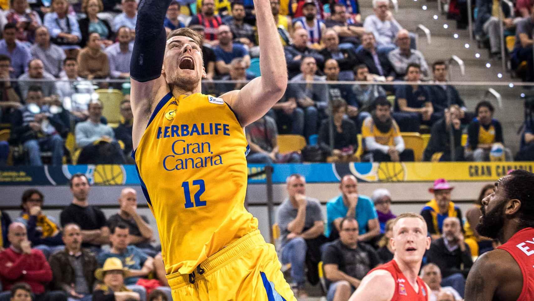 Las mejores imágenes del Herbalife Gran Canaria - Montakit Fuenlabrada de la Copa del Rey de baloncesto