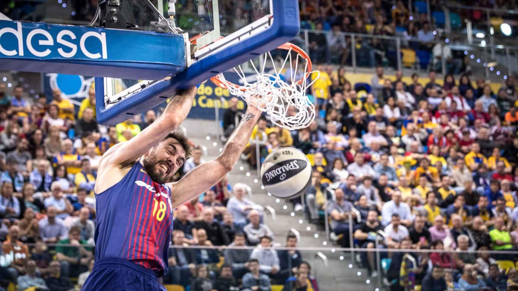 Las mejores imágenes del FC Barcelona Lassa - Baskonia de la Copa del Rey de baloncesto