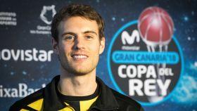 Tim Abromaitis posa para EL ESPAÑOL en Gran Canaria.