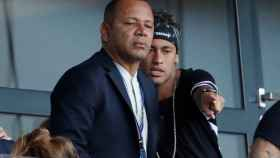 Neymar padre e hijo.