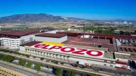 Vista aérea de una fábrica de ElPozo.