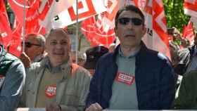 manifestacion 1 de mayo ccoo ugt psoe iu tudanca sarrion angel hernandez faustino temprano trabajo corrupcion (1)