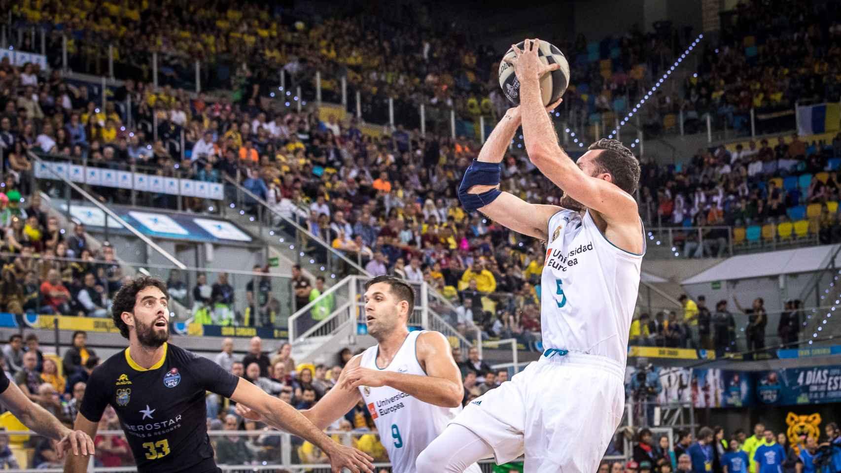 Las mejores imágenes del Iberostar Tenerife - Real Madrid de la Copa del Rey de baloncesto