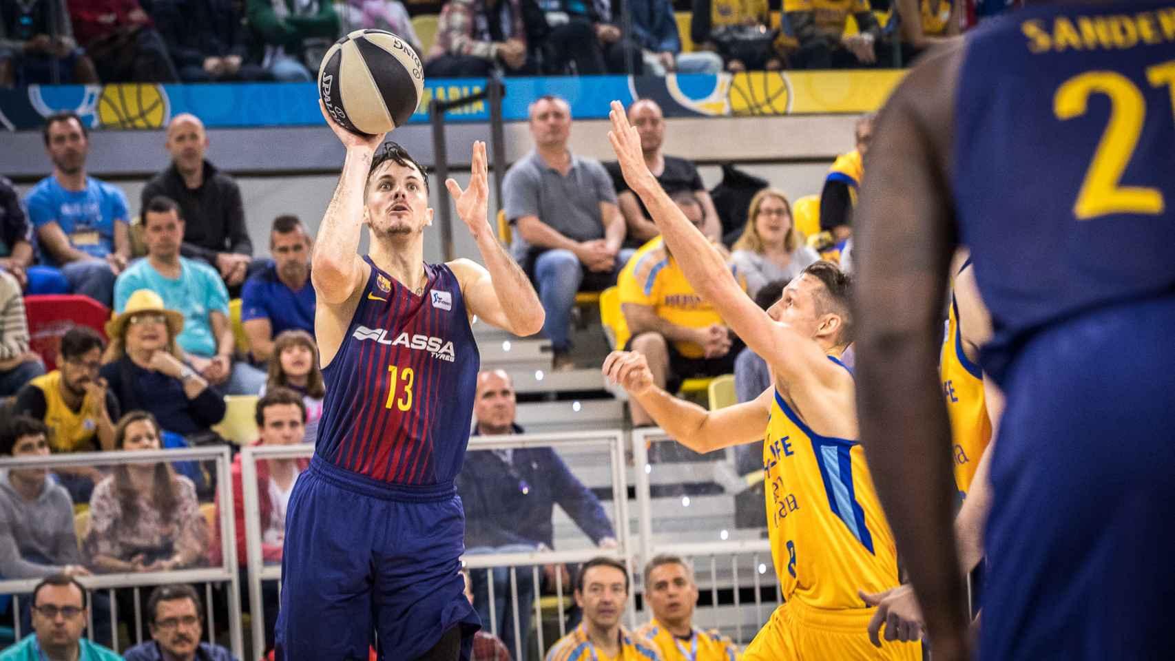 Las mejores imágenes del FC Barcelona Lassa - Herbalife Gran Canaria de la Copa del Rey de baloncesto