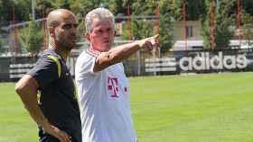 Pep Guardiola y Jupp Heynckes.