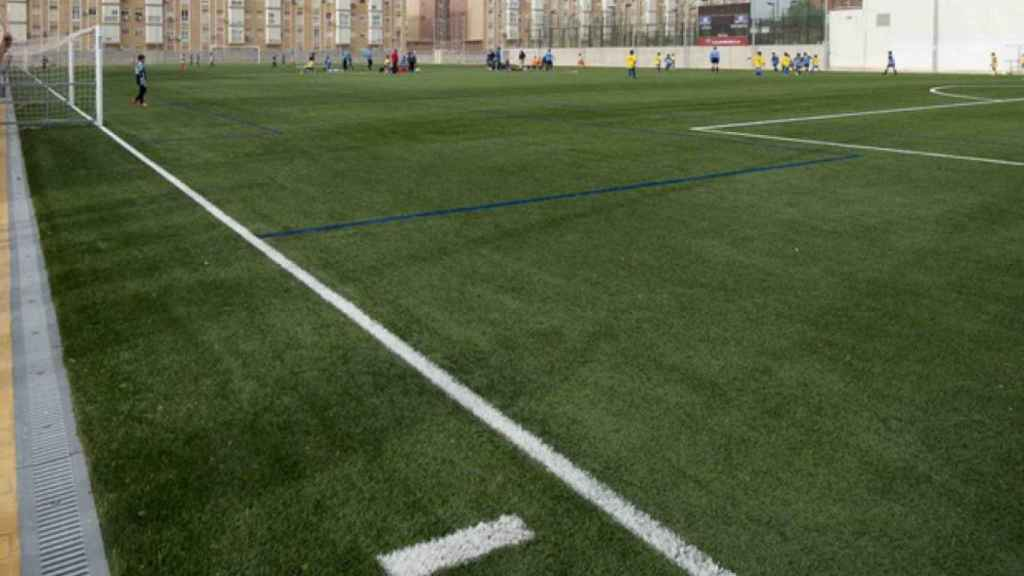 Campo de fútbol.