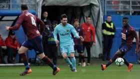 Messi, en Ipurua