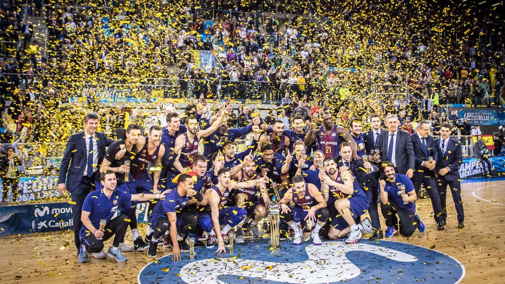 Las mejores imágenes del Real Madrid - FC Barcelona Lassa de la Copa del Rey de baloncesto