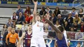 Luka Doncic, contra el Barcelona. Foto acb.com