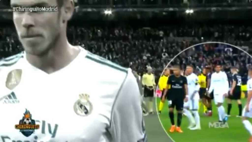 Sergio Ramos llama a Gareth Bale, pero este se marcha a los vestuarios
