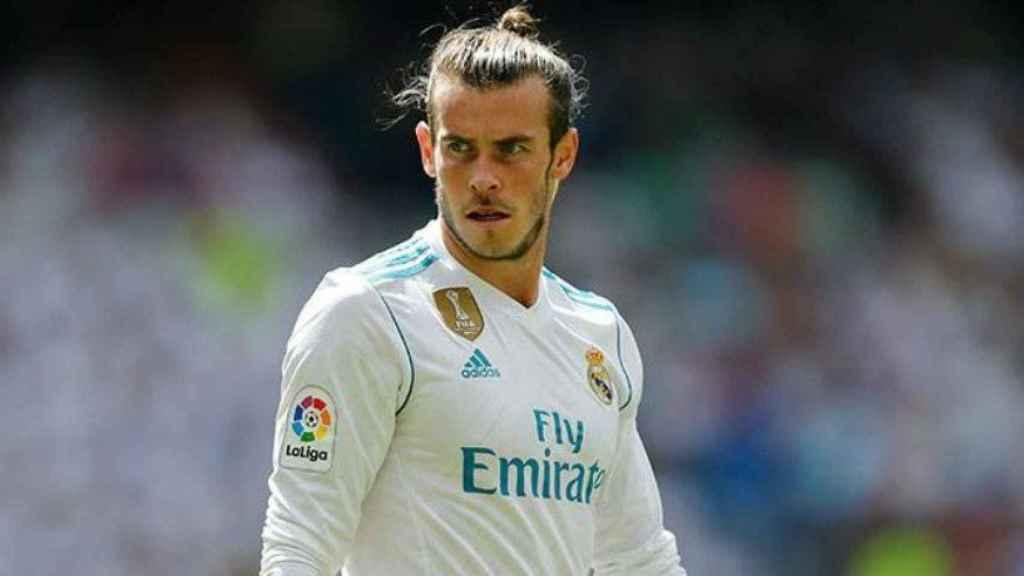 Gareth Bale en un partido del Madrid