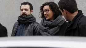 La secretaria general de ERC, Marta Rovira, a su llegada a la sede del Tribunal Supremo.
