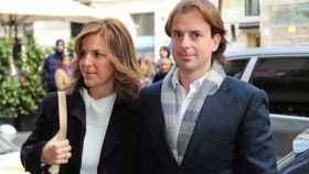 Arantxa Sánchez Vicario y su expareja, pero todavía marido, Josep Santacana.