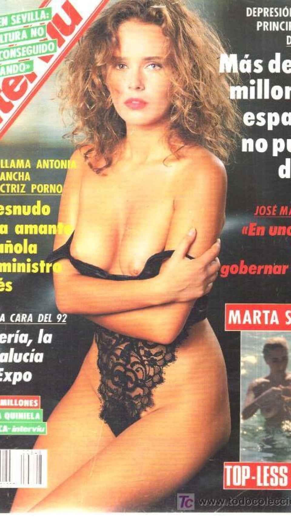 La portada de 1992.