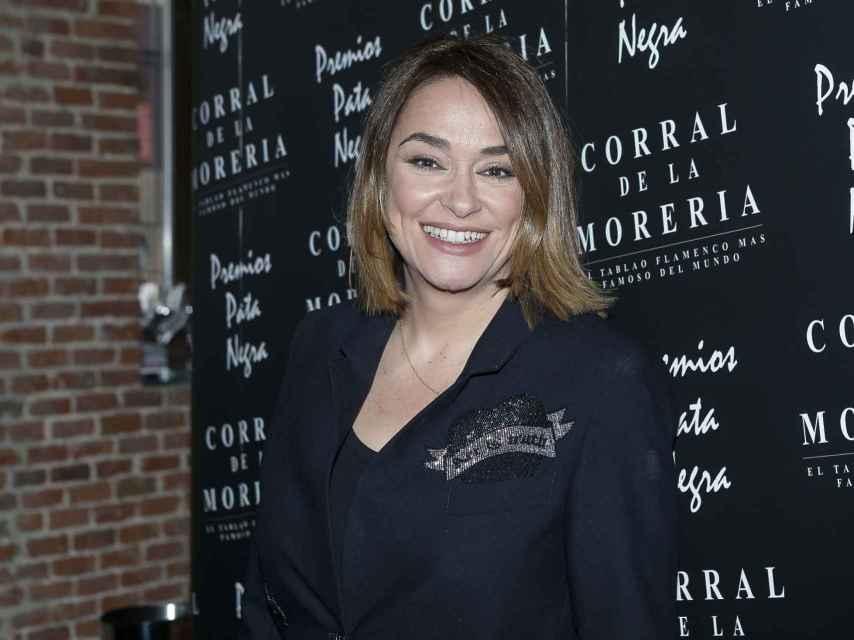 Toñi Moreno ha recibido uno de los premios de Pata Negra.