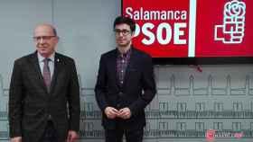 Arturo Santos y Jose Luis Mateos PSOE