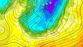 Previsiones de caídas de las temperaturas para el 27 de febrero.
