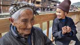 Una mujer de más de 100 años en buen estado de salud.