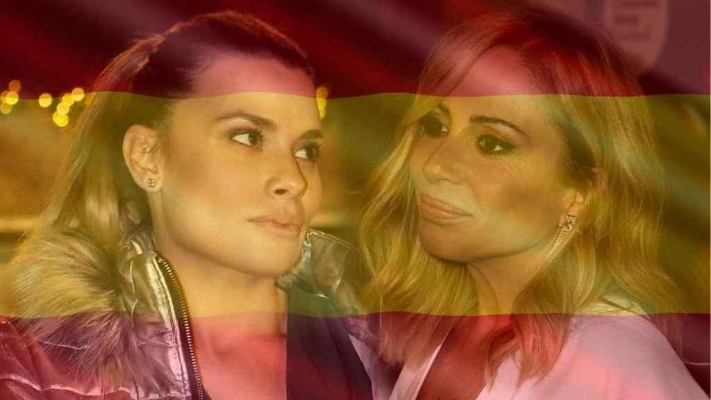 María Lapiedra y Marta Sánchez han compuesto letras muy diferentes para el himno.