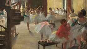 Una de las obras de Degas.