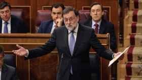 Rajoy, en el Congreso este miércoles.
