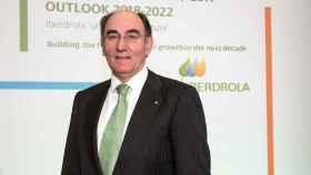 Sánchez Galán en la presentación del plan de inversión en Londres.