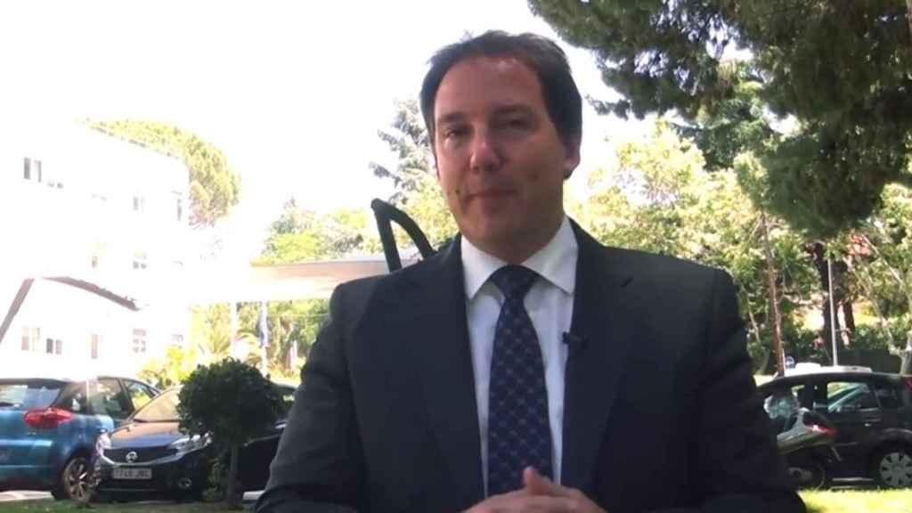 El consejero delegado de Orange España, Laurent Paillassot.