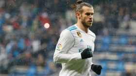 Gareth Bale, en el partido contra el Villarreal. Foto: Manu Laya / El Bernabéu